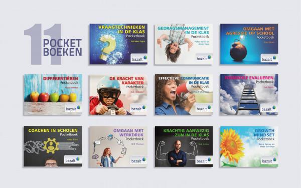 set pocketboeken (11 verschillende)