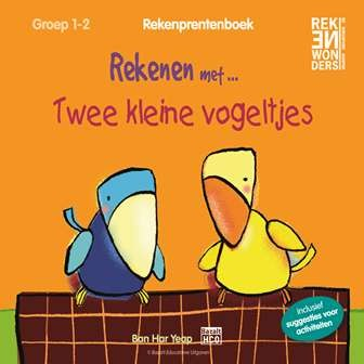Rekenprentenboek: Twee kleine vogeltjes