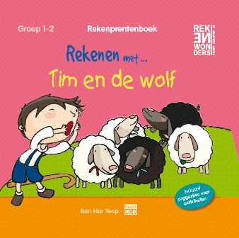 Rekenprentenboek: Tim en de wolf