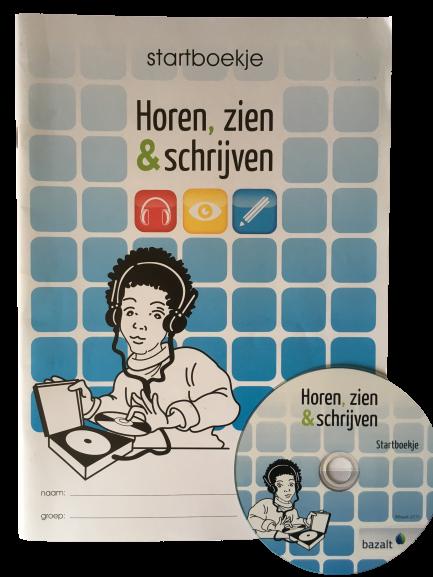 Horen, Zien en Schrijven, Startboekje (met cd)