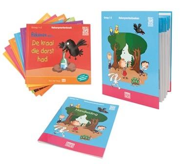 Rekenprentenboeken Groep 1-2 - Complete set (Verkoopeenheid 3)