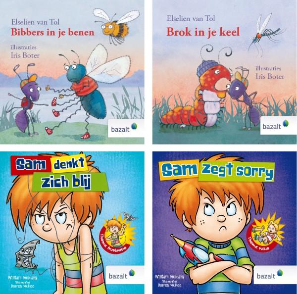 Pakket van 4 prentenboeken