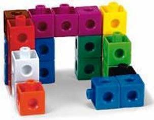 Snap Cubes set van 500