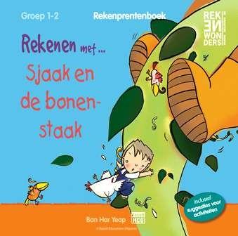 Rekenprentenboek: Sjaak en de bonenstaak