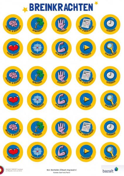 Stickers Breinkrachten
